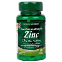 Zinc Picolinate - Pikolinian Cynku 25 mg (100 tabl.) Holland & Barrett