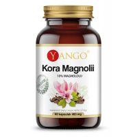 Kora Magnolii - standaryzowana na zawartość 10% magnololu (60 kaps.) Yango