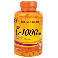 Witamina C 1000 mg z bioflawonoidami i dziką różą (250 tabl.) Holland & Barrett