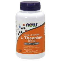 L-Teanina 200 mg (120 kaps.) NOW Foods