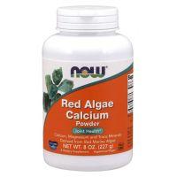 Red Algae Calcium - Wapń z Czerwonych Alg (227 g) NOW Foods