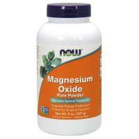 Magnez Magnesium Oxide /tlenek magnezu/ (227 g) NOW Foods