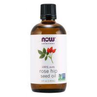 100% Olejek z Nasion Dzikiej Róży (Rose Hips) - Dzika Róża (118 ml) NOW Foods