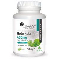 Gotu Kola - Wąkrota Azjatycka 400 mg (100 kaps.) Aliness