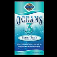Oceans 3 Better Brain with OmegaXanthin - Kwasy Omega 3 DHA EPA (90 kaps.) Garden of Life