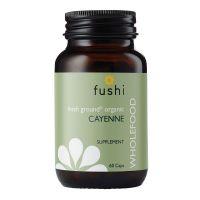BIO Pieprz Cayenne - Owoc Pieprzu 460 mg (60 kaps.) Fushi