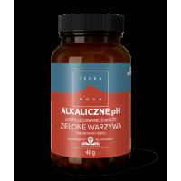 Alkaliczne pH Liofilizowane świeże zielone warzywa (40 g) Terranova