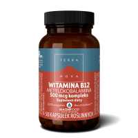 Witamina B12 500 mcg (50 kaps.) Terranova