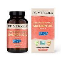 Salmon Oil - Olej z dzikiego łososia alaskańskiego (90 kaps.) Dr Mercola