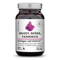 Kolagen z ryb NatiCol - Włosy, Skóra, Paznokcie (60 kaps.) Aura Herbals