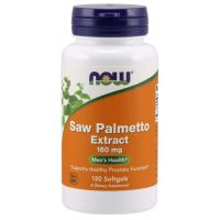 Saw Palmetto Extract - Palma Sabalowa 160 mg (120 kaps.) NOW Foods