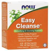 Easy Cleanse - Oczyszczanie Organizmu (2 x 60 kaps.) NOW Foods