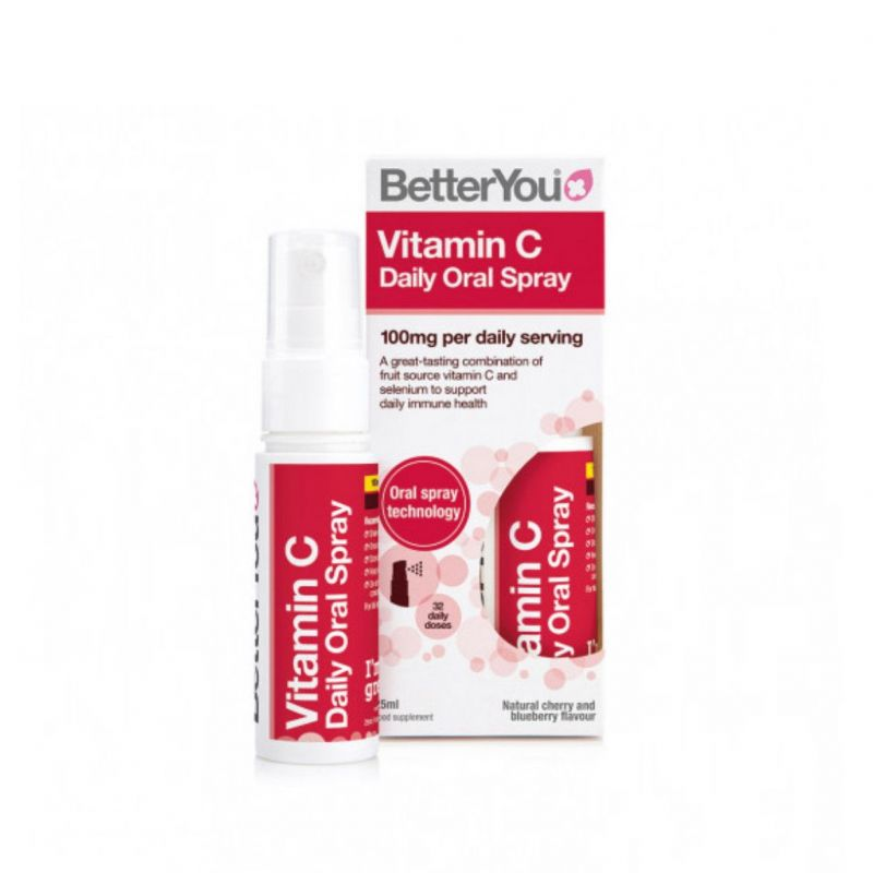 Vitamin C Oral Spray - Witamina C w sprayu (25 ml) BetterYou