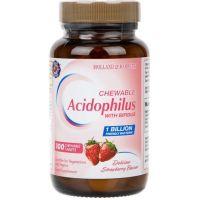 Probiotyk Acidophilus with Bifidus 1 miliard CFU (100 tabl.) Holland & Barrett