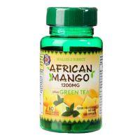 African Mango plus Green Tea - Afrykańskie Mango ekstrakt 1200 mg + Zielona Herbata (60 tabl.) Holland & Barrett