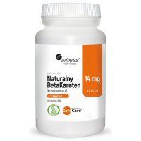 Naturalny Beta Karoten (Prowitamina A) 23333 IU (100 tabl.) Aliness