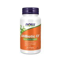 AlliBiotic CF - Wzmocnienie Odporności (60 kaps.) NOW Foods