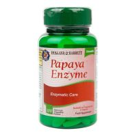 Enzym Papaina 15 mg - Papaya Enzyme (100 tabl.) Holland & Barrett