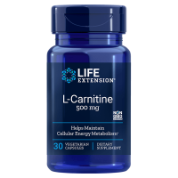 L-Karnityna - L-Carnitine 500 mg (30 kaps.) Life Extension