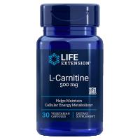 L-Karnityna - L-Carnitine 500 mg (30 kaps.) Life Extension