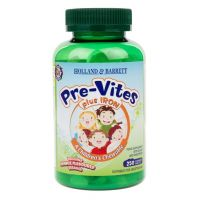 Pre-Vites plus Iron - Multiwitamina do żucia dla dzieci (250 tabl.) Holland & Barrett
