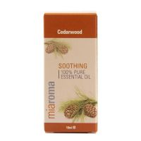 100% Olejek Cedrowy - Miaroma Cedarwood Pure Essential Oil (10 ml) Holland & Barrett