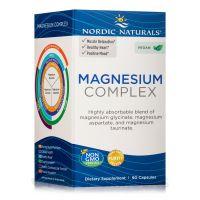 Magnesium Complex - Glicynian, Asparginian i Taurynian Magnezu (90 kaps.) Nordic Naturals