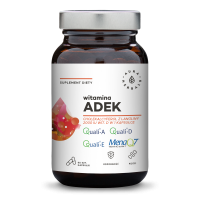 Witamina ADEK - A + D3 + E + K2 MK-7 (90 kaps.) Aura Herbals