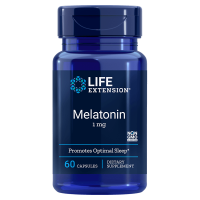 Melatonina 1 mg (60 kaps.) Life Extension