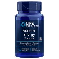 Adrenal Energy Formula - Bazylia OciBest + Ashwagandha Sensoril + Cordyceps + Bacopa BaCognize (60 kaps.) Life Extension