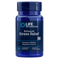 Enhanced Stress Relief - Melisa Cytrynowa 300 mg + L-Teanina (Suntheanine) 200 mg (30 kaps.) Life Extension