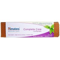 Complete Care Toothpaste Simply Spearmint - miętowa pasta do zębów bez fluoru (150 g) Himalaya