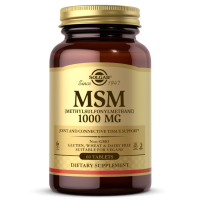 MSM - Siarka Metylosulfonylometan 1000 mg (60 tabl.) Solgar