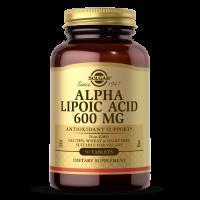 Alpha Lipoic Acid - Kwas Alfa Liponowy ALA 600 mg (50 tabl.) Solgar