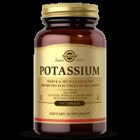 Potassium - Glukonian Potasu 99 mg (100 tabl.) Solgar