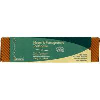 Neem & Pomegranate Toothpaste - Pasta do zębów bez fluoru z Neem i Granatem (150 g) Himalaya