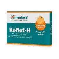Koflet-H - Wsparcie układu oddechowego, smak pomarańczowy (12 tabl.) Himalaya