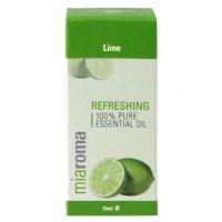 100% Olejek Limonkowy - Miaroma Lime Pure Essential Oil (10 ml) Holland & Barrett