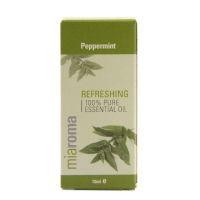 100% Olejek z mięty pieprzowej - Miaroma Peppermint Pure Essential Oil (10 ml) Holland & Barrett