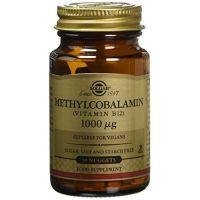 Vitamin B12 Methylocobalamin - Witamina B12 /Metylokobalamina/ 1000 mcg (30 tabl.) Solgar