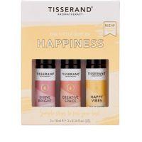 The Little Box of Happiness - Zestaw olejków eterycznych na lepsze samopoczucie (3x10 ml) Tisserand