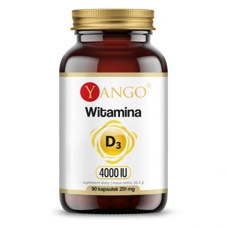 Witamina D3 4000 IU /cholekalcyferol/ 100 mcg (90 kaps.) Yango