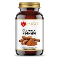 Cynamon Cejloński - ekstrakt 450 mg (90 kaps.) Yango