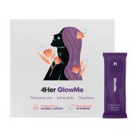GlowMe 4Her - Nawilżona, jędrna, gładka i promienna skóra - saszetki 11 g (30 szt.) Health Labs