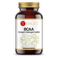 BCAA - L-Leucyna, L-Izoleucyna, L-Walina (90 kaps.) Yango
