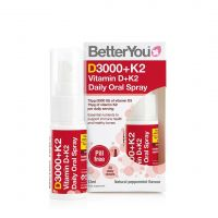DLUX+ Witamina D3 3000 IU + K2 MK-7 75 mcg w sprayu (12 ml) BetterYou