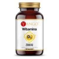 Witamina D3 2000 IU /cholekalcyferol/ 50 mcg (90 kaps.) Yango