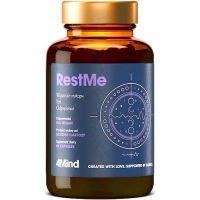 4Mind RestMe - Waleriana + Ashwagandha + Chmiel + Magnez + L-Teanina + Melatonina + P-5-P (60 kaps.) Health Labs