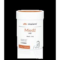 Miedź /diglicynian miedzi/ 2 mg (120 kaps.) Dr. Enzmann MSE
