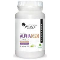 Alpha GPC - L-Alfa-Glicerylofosforylocholina 300 mg (60 kaps.) Aliness